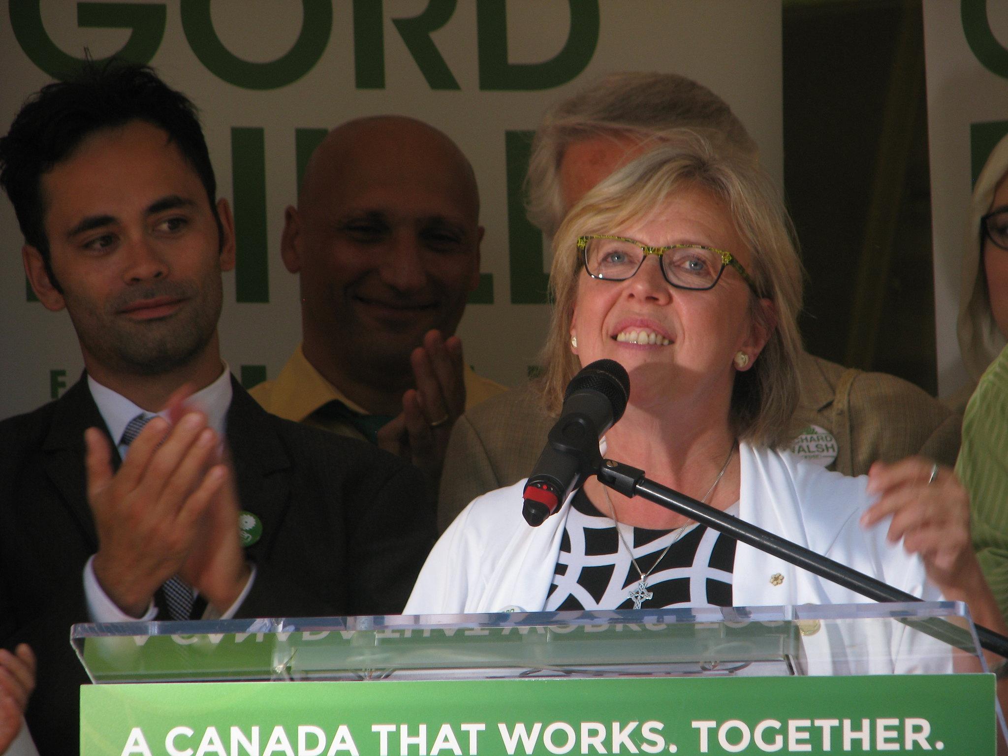 Elizabeth May Parti vert du Canada