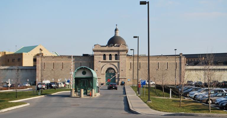 Prison de Bordeaux, à Montréal (Québec).